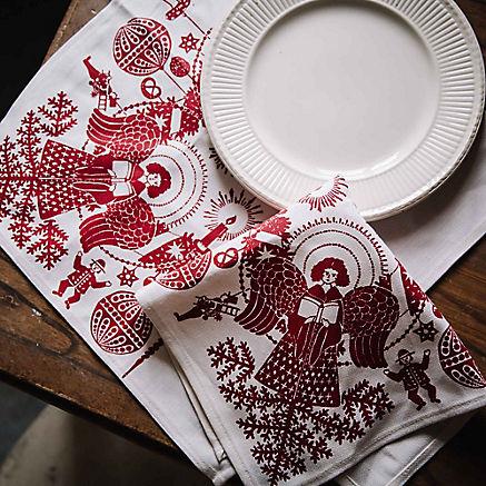 Stoffservietten Weihnachten