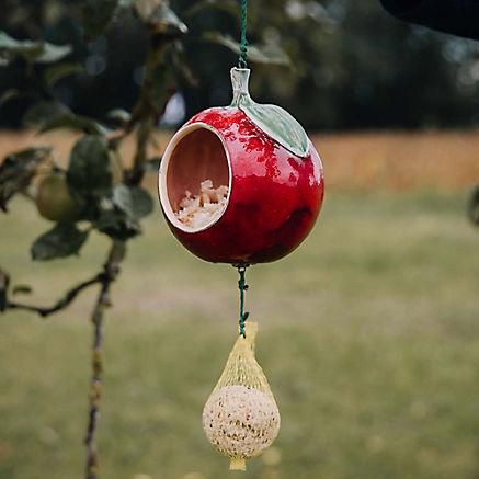 Vogelhaus Apfel