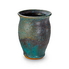 Keramikvase aus feinem Ton