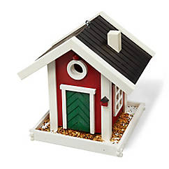 Vogelhaus aus Fichtenholz
