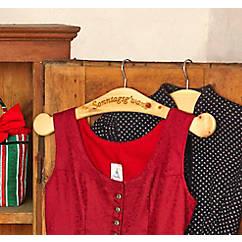 Zirben-Kleiderbügel Sonntagsgewand