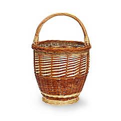 Aufbewahrungs-Korb aus Rohweide