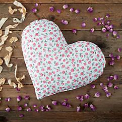 Duftendes Herzkissen Rose & Zirbe