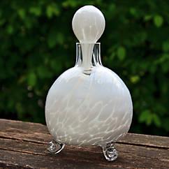 Mundgeblasene Glas-Wespenfalle
