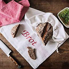 Großer Brotbeutel aus Leinen