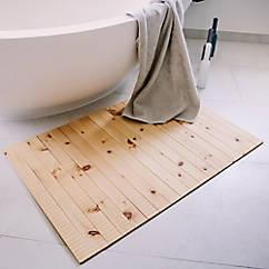 Wohlfühlteppich aus Zirbenholz