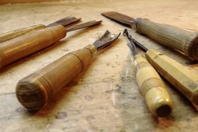 Ratsche aus Ahornholz