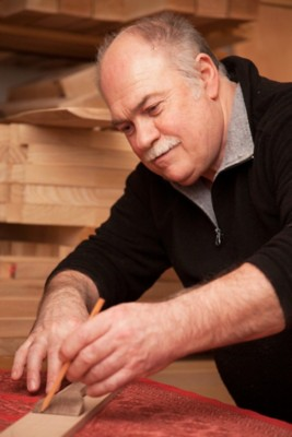 Kochlöffel aus Birnbaumholz