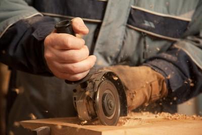 Handgefertigtes Holzbrett