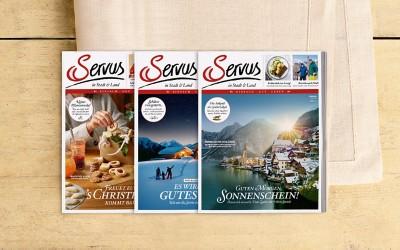 Abo Servus in Stadt & Land Österreich