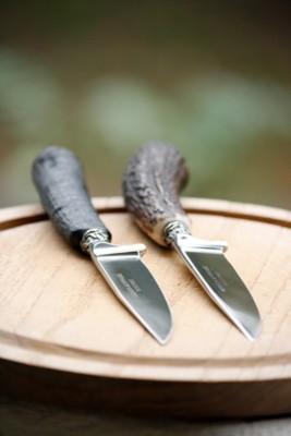 Jagdmesser mit Hirschhorngriff