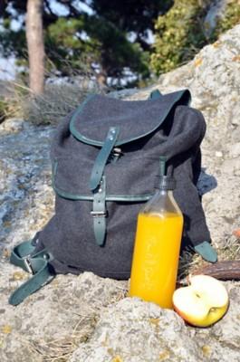 Rucksack aus Loden