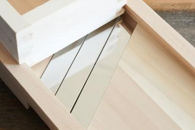 Krauthobel aus Holz