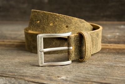 Trachtengürtel aus Leder