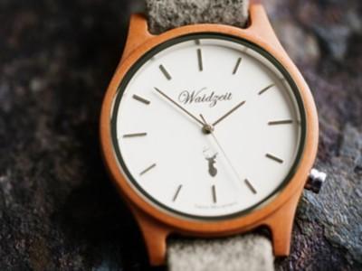 Holz-Armbanduhr Dachstein