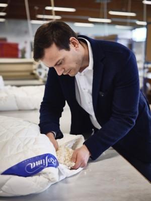 Zirben-Bettdecke für Kinder