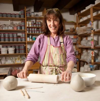 Nistkasten aus Keramik