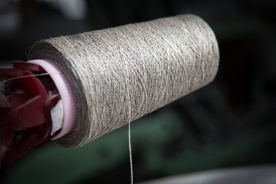 Leinen-Waschhandschuh