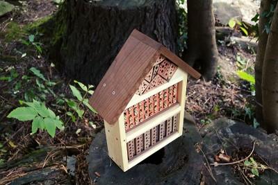 Wildbienen-Villa