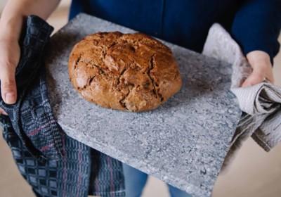 Brotbackstein für den Backofen