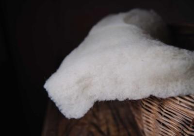 Schafschurwoll-Polster