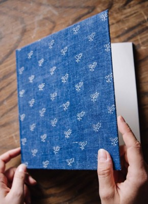Blaudruck Blankobuch