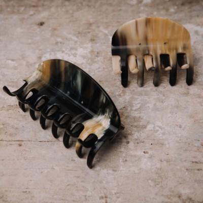 Haarklammer aus Horn