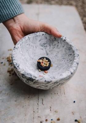 Räucherschale aus Naturstein