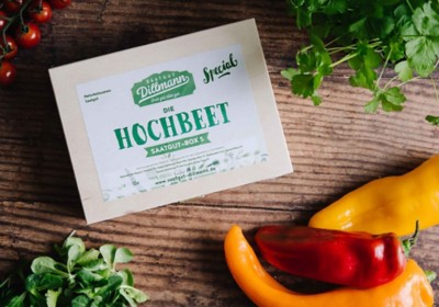 Saatgutbox Hochbeet